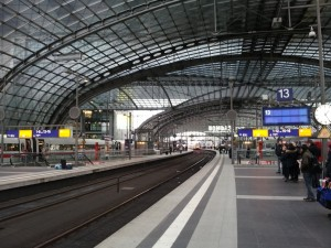 Europas größter Turmbahnhof